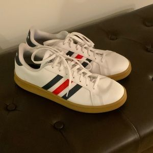 Adidas Low Profile Red/Blue Stripes